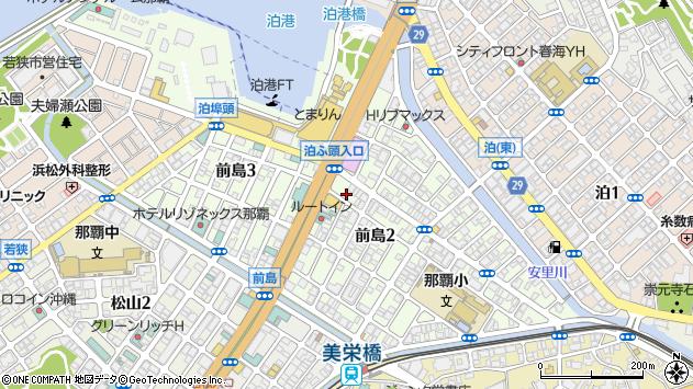 沖縄県那覇市前島2丁目13周辺の地図