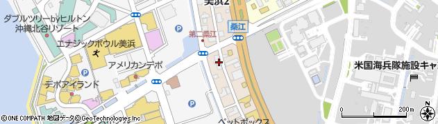 沖縄県中頭郡北谷町美浜2丁目周辺の地図
