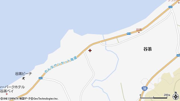 沖縄県国頭郡恩納村谷茶1250周辺の地図