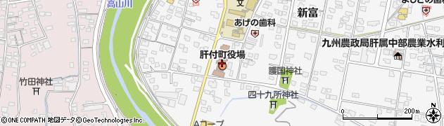 鹿児島県肝属郡肝付町周辺の地図