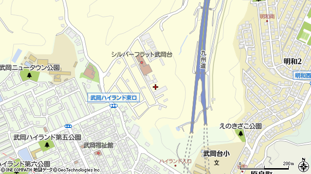 鹿児島県鹿児島市小野町周辺の地図