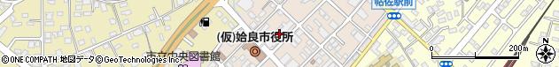 鹿児島県姶良市周辺の地図