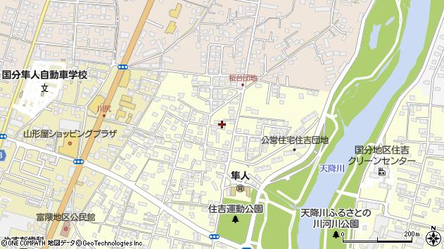 鹿児島県霧島市隼人町住吉 地図(住所一覧から検索) :マピオン