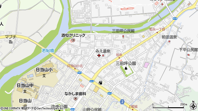 鹿児島県霧島市隼人町松永 地図(住所一覧から検索) :マピオン