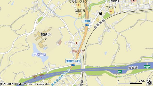 宮崎県宮崎市清武町加納年神 住所一覧から地図を検索