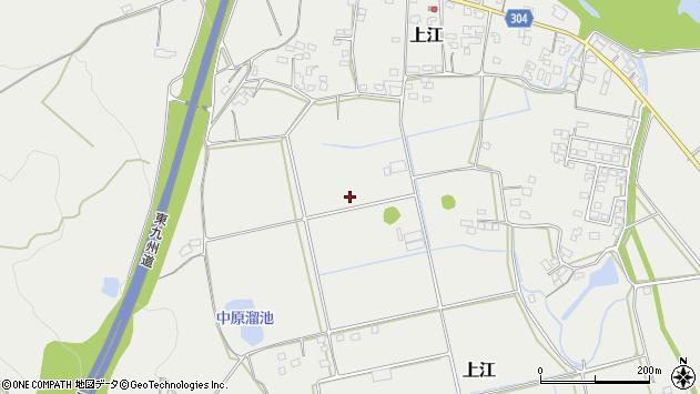 宮崎県児湯郡高鍋町上江青木周辺の地図