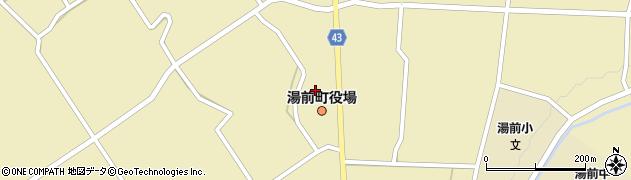 熊本県球磨郡湯前町周辺の地図