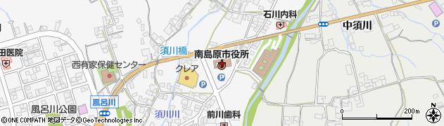 長崎県南島原市周辺の地図