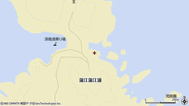 大分県佐伯市蒲江大字蒲江浦3249周辺の地図