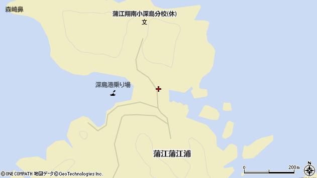 大分県佐伯市蒲江大字蒲江浦3246周辺の地図
