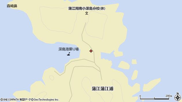 大分県佐伯市蒲江大字蒲江浦3241周辺の地図