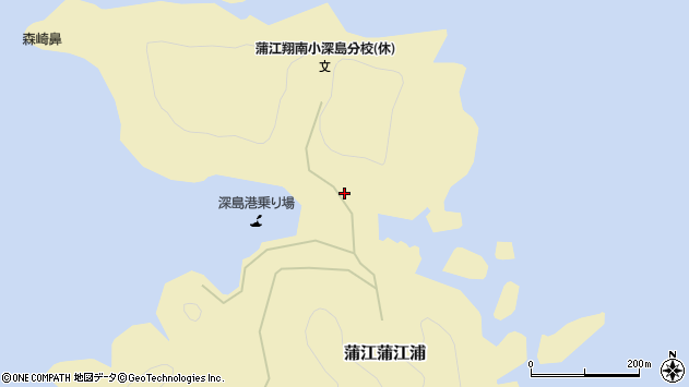 大分県佐伯市蒲江大字蒲江浦3244周辺の地図