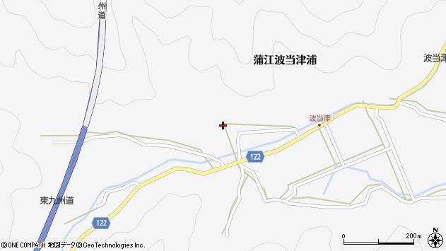 大分県佐伯市蒲江大字波当津浦574周辺の地図