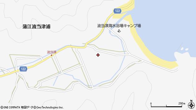 大分県佐伯市蒲江大字波当津浦792周辺の地図