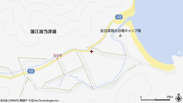 大分県佐伯市蒲江大字波当津浦928周辺の地図