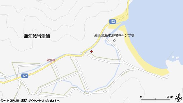 大分県佐伯市蒲江大字波当津浦790周辺の地図
