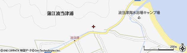 大分県佐伯市蒲江大字波当津浦668周辺の地図