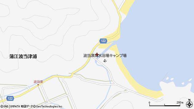 大分県佐伯市蒲江大字波当津浦784周辺の地図