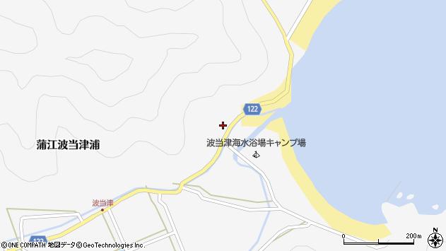 大分県佐伯市蒲江大字波当津浦683周辺の地図