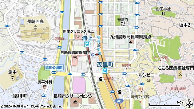 長崎県長崎市川口町周辺の地図