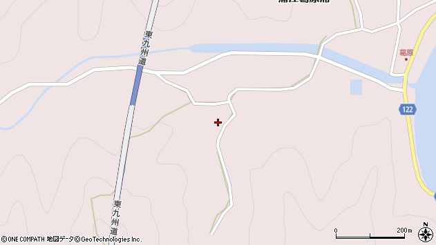 大分県佐伯市蒲江大字葛原浦1346周辺の地図