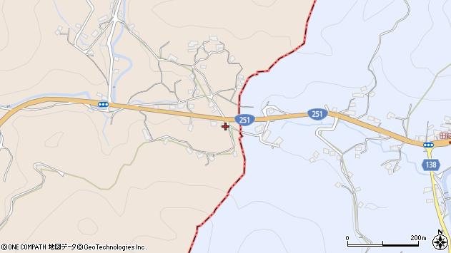 長崎県長崎市川内町周辺の地図