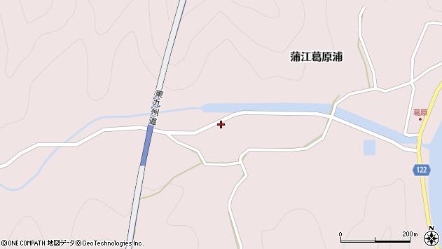 大分県佐伯市蒲江大字葛原浦1158周辺の地図