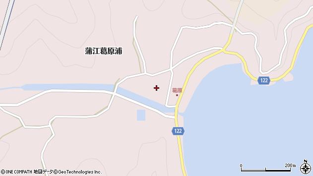 大分県佐伯市蒲江大字葛原浦239周辺の地図