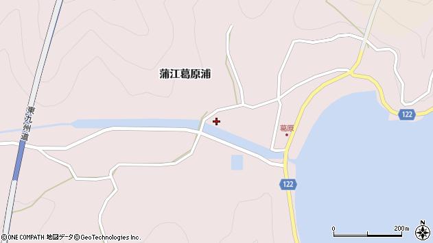 大分県佐伯市蒲江大字葛原浦289周辺の地図
