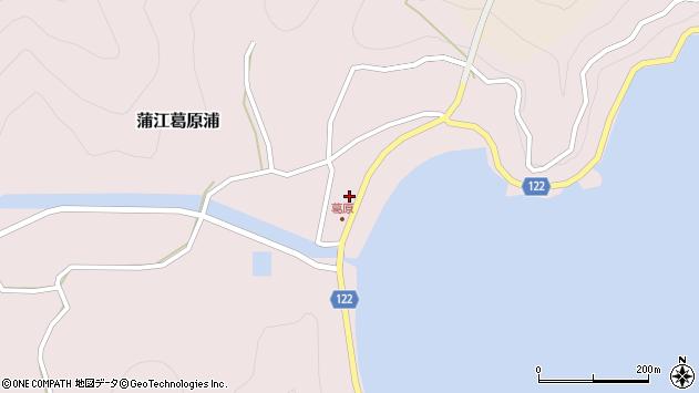 大分県佐伯市蒲江大字葛原浦4周辺の地図