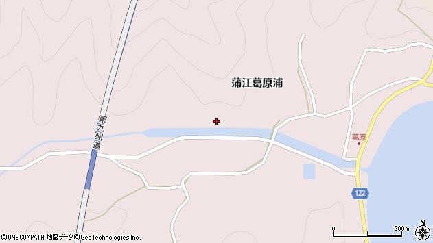 大分県佐伯市蒲江大字葛原浦319周辺の地図