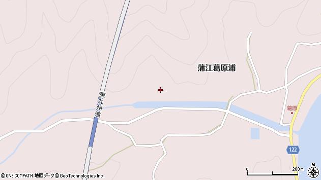 大分県佐伯市蒲江大字葛原浦332周辺の地図