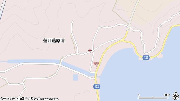 大分県佐伯市蒲江大字葛原浦86周辺の地図