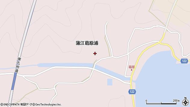 大分県佐伯市蒲江大字葛原浦327周辺の地図