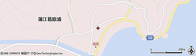 大分県佐伯市蒲江大字葛原浦77周辺の地図
