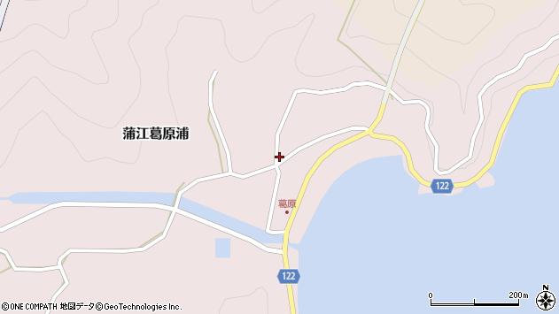 大分県佐伯市蒲江大字葛原浦81周辺の地図
