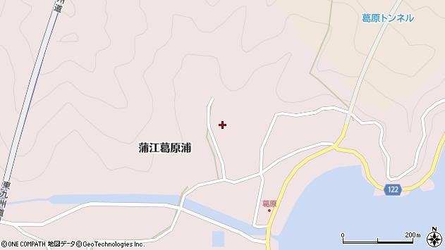 大分県佐伯市蒲江大字葛原浦172周辺の地図