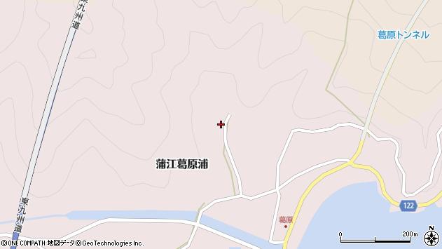 大分県佐伯市蒲江大字葛原浦161周辺の地図
