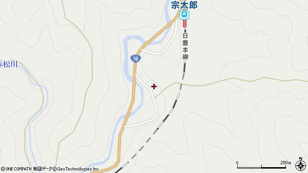 大分県佐伯市宇目大字重岡3536周辺の地図