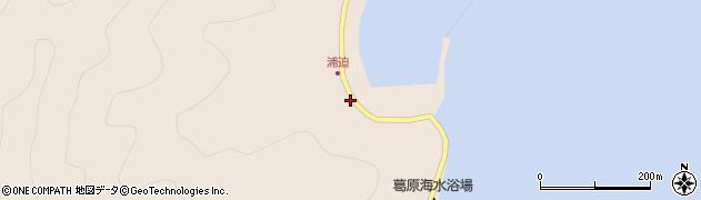 大分県佐伯市蒲江大字丸市尾浦1755周辺の地図