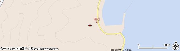 大分県佐伯市蒲江大字丸市尾浦1571周辺の地図