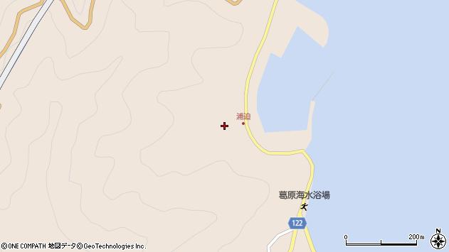大分県佐伯市蒲江大字丸市尾浦1557周辺の地図