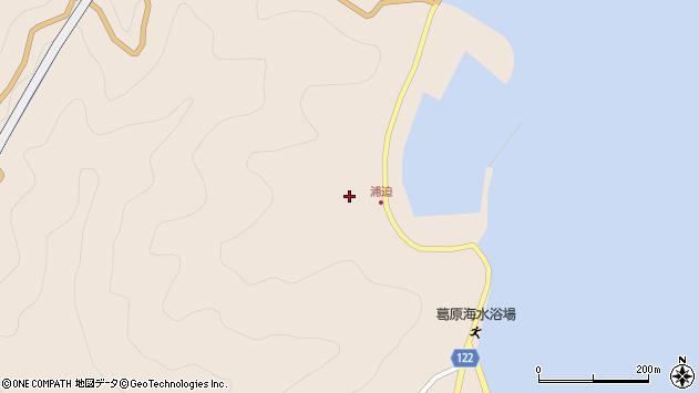 大分県佐伯市蒲江大字丸市尾浦1559周辺の地図