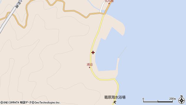 大分県佐伯市蒲江大字丸市尾浦1578周辺の地図