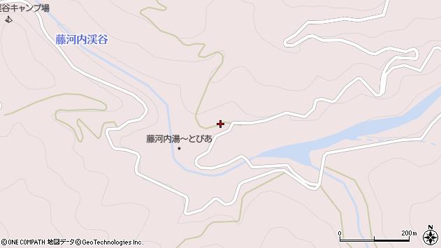 大分県佐伯市宇目大字木浦内1317周辺の地図