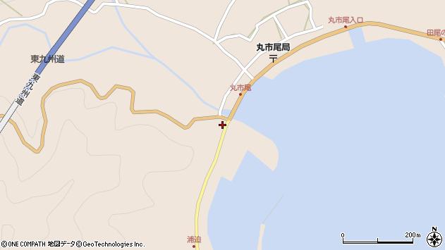 大分県佐伯市蒲江大字丸市尾浦1424周辺の地図