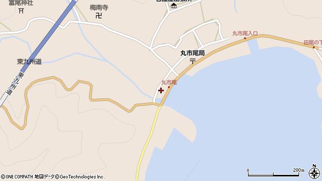大分県佐伯市蒲江大字丸市尾浦1233周辺の地図