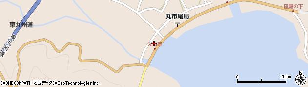 大分県佐伯市蒲江大字丸市尾浦1332周辺の地図