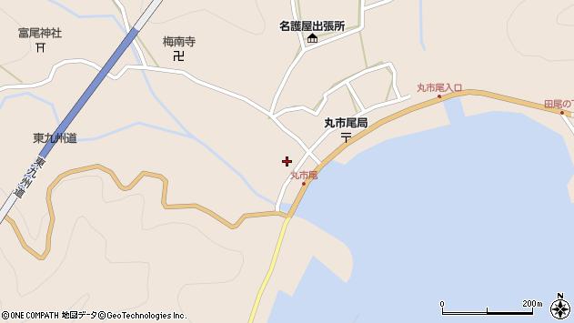 大分県佐伯市蒲江大字丸市尾浦1311周辺の地図