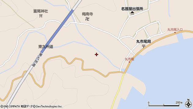 大分県佐伯市蒲江大字丸市尾浦1444周辺の地図